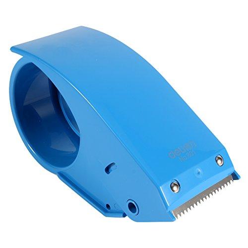 48 mm 2 '' Hand Klebebandspender Verpackung Cutter Verpackung Boxen Rollenschneider(Blue)