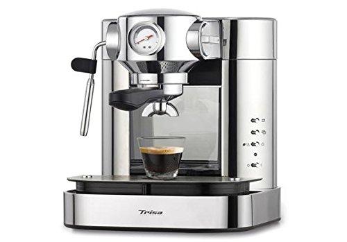 Trisa Electronics Kaffemaschine Espresso Bar, 1.5 liters, Silber