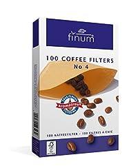 Finum 100 Coffee Filters No. 4