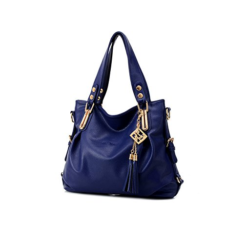xiaoxuan europei e americani moda borse a tracolla per le donne, Deep Blue (blu) - BG00002E Deep Blue