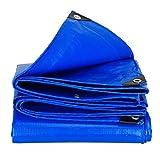 MuMa Plane Blau Verdicken Regenfest Wasserdicht Sonnencreme Schatten Draussen Schuppen Stoff (Farbe : Blau, größe : 4 * 5m)