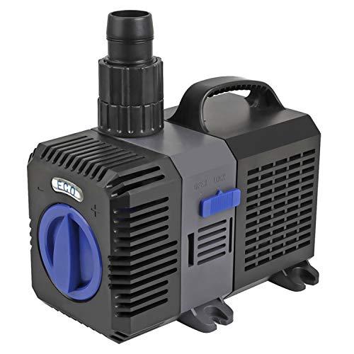 Yaobluesea eco pompa pompe a frequenza variabile pompa per stagni pompa laghetto 3000l/h 10w