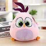 Hope Genuine Angry Birds 2 Bambola Peluche Giocattoli, Grande Film con Baby Bird Bambola Compleanno Compleanno Presente Ragazza Uccello Rosa Zoe 18 cm Bambola - Autorizzazione Genuina