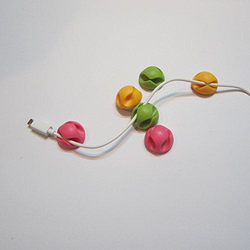 Enem Cable Anti Fall Double Cut drop clip Multipurpose Holder organizer