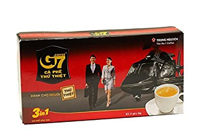 TRUNG NGUYEN Chunguen G7 instant coffee (Coffeemix3in1) 16gX21 bags Vietnamese coffee by Trung Nguyen from Trung Nguyen