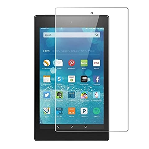 Schutzglas Folie für Amazon Kindle Fire HD8 (6. Generation 2016) 8.0 Zoll Tablet Display Schutz 9H Schutzglas HD 8