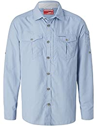 63bd7d5a88d074 Craghoppers Men s Cr165 NosiLife Adventure Long Sleeved Shirt