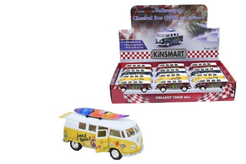 NEW-VW-VOLKSWAGEN-1962-CAMPERVAN-CAMPER-VAN-BUS-132-SCALE-BURGUNDY