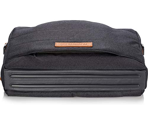 HP Envy Urban 15.6-inch Topload Laptop Briefcase with Shoulder Strap and RFID Blocking Pockets (Grey) Image 10