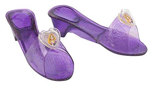 Schuhe Rapunzel Kostüm - Generique - Rapunzel Pantoffeln für Mädchen