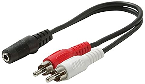Steren - Audio adapter - 26 AWG - RCA (M)