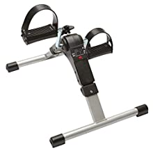 NRS Healthcare Pedal Exerciser with Digital Display, for Rehabilitation Exercise