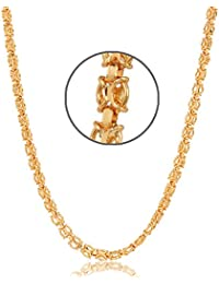 Jewels Galaxy Exclusive 18 Kt Gold Plated Chain