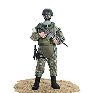 Baellar 12'' Special Forces Military Army Combat soldier Action Figure Playset- ACU