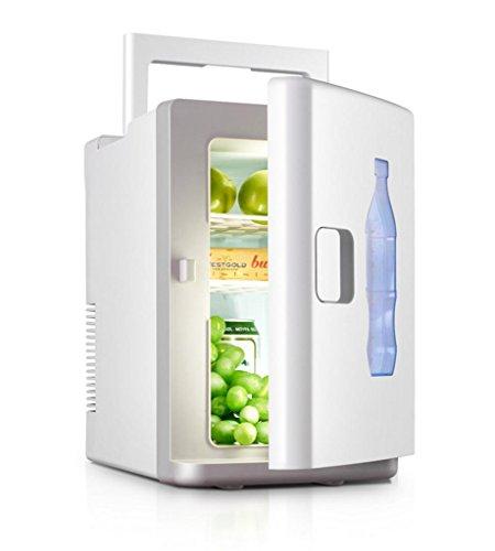 Mustbe strong 10L Auto Kühlraumkühlerkasten Einzelner kalter Wohnraumraum Miniauto-Minikühlraum Auto-Doppeltgebrauch 22 * 31 * 34cm Energie 50W, Tragbare Formel - Freie Energie Formel
