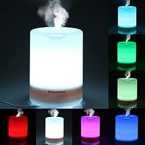 Excelvan® 300ml Umidificatore Ultrasuoni / Diffusore di Aromi o Oli Essenziali / Umidificatore Mist Purificatore Aromatherapy, 7 colore LED