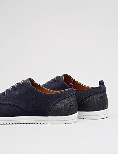 FIND Herren Derby Sneaker in Wildleder-Optik Blau (Navy)