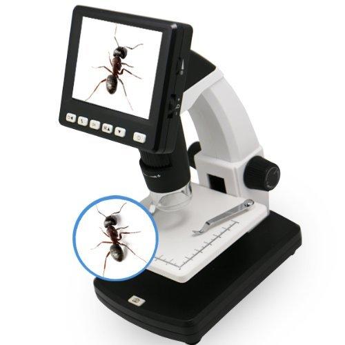 Sourcingbay 3,5-Zoll-Standalone-500x Vergr??erung 5MP Aufl?sung 8 LCD Digital-Videokamera-Mikroskop