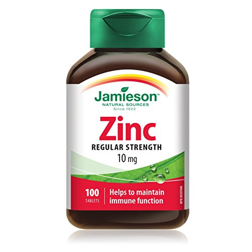 Jamieson Zink Nahrungsergänzung 100 Tabletten