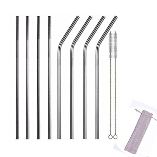 abimars-acier-inoxydable-pailles-en-metal-reutilisable-eco-friendly-paille-lot-de-lot-de-8-avec-2-br