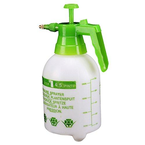 AllRight 2 Liter Drucksprüher Universal Sprüher Hand Gartenspritze Spritzen Sie Unkräuter, Dünger usw, für Chemikalien und Pestizide geeignet (Hand-druck-sprüher)