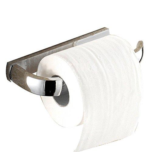 Leidener TM Badezimmer Zubehör Messing WC-Papier Halter Wandhalterung Halterung Rolle Tissue, chrom-Finish