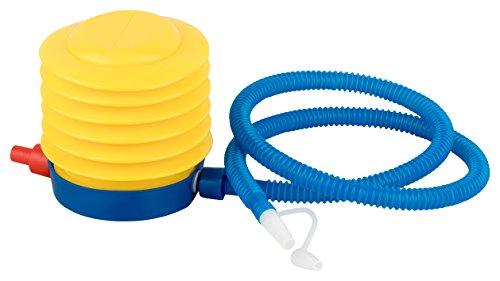 BODYMATE Gymnastikball / Fitnessball - BLAU 65cm - Premium Yoga-Ball für Yoga & Pilates Core-Training inkl. Luftpumpe - Belastbar bis 300kg, Verfügbar in den Größen 55, 65, 75, 85-cm - 3