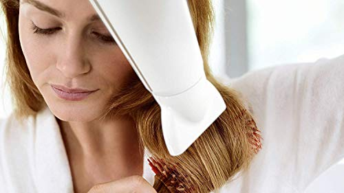 Philips DryCare Advanced HP8232/00 Secador ThermoProtect Ionic con Ionizador para Suavizar el Cabello,  2200 W,  Blanco