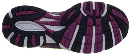 Saucony  Grid Cohesion 8, Damen Laufschuhe Violett Viola/Giallo Multicolour