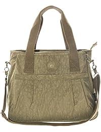 BHBS Femmes Grand en Tissu 3 Compartiment Shopping Fourre-Tout Sac à Main épaule 36x30x14 cm (LxHxP)