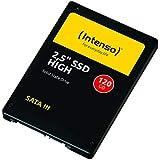 Intenso High Performance interne SSD 120GB (6,3 cm (2,5 Zoll), SATA III, 520 MB/Sekunden) schwarz