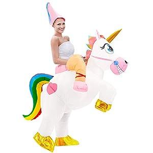 Tacobear Disfraz Inflable De Unicornio