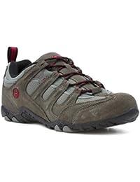 Hi-Tec - Zapato urbano acordonado, gris carbón, para hombre Hi-Tec