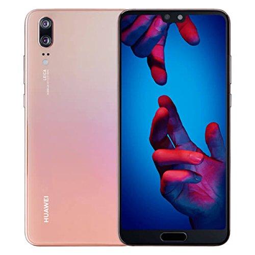 Image of Huawei P20 Smartphone - 6901443214549 14,73 cm (5,8 Zoll) (4G 128GB Dual Sim LCD, Android 8.1 (Oreo), Octa 8 Core 128GB, 4GB RAM, 12MP Kamera, 2X Lossless Zoom) Pink