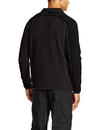 The North Face Herren M Glacier Delta Full Zip Jacke Grau/Schwarz/Fuseboxgyblkhtr