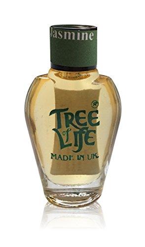New Tree of Life Jasmin Parfüm Öl Duft Duft Körper Bad Brenner 8ml Glas-Flasche (Jasmin-parfüm-körper-Öl)