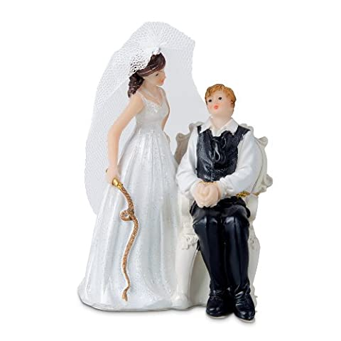 Städter 925403 Brautpaar, 13 cm - Amore Del Cuore Torta Nuziale