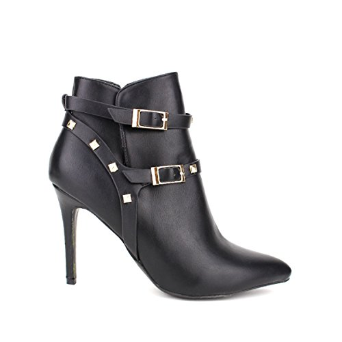 Cendriyon, Bottine Noire LADYS Chaussures Femme Noir