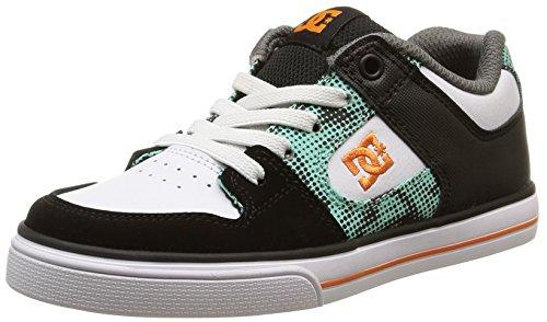 DC Shoes Pure Elastic B, Baskets Basses Garçon