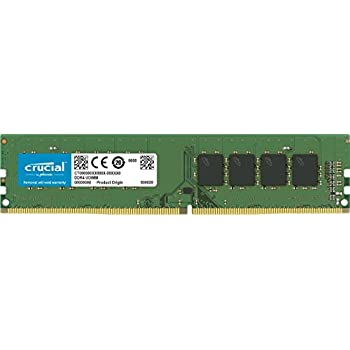 Crucial CT16G4DFD8266 - Memoria RAM de 16 GB (DDR4, 2666 MT/s, PC4-21300, Dual Rank x 8, DIMM, 288-Pin)