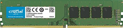 Crucial - Memoria RAM de 8 GB (DDR4, 2133 MHz, PC4-17000, single rank, DIMM 288 pin)