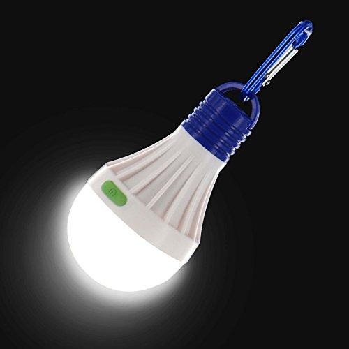 Lampadina led portatile da campeggio da appendere pesca lanterna lampada torcia orb outdoor con glow in the dark interruttore, 3 pack