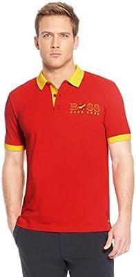 Hugo Boss Hombre Camiseta Polo Paddy de la bandera España 50260461