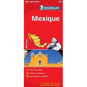 Carte NATIONAL Mexique
