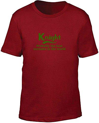 Cavaliere probabilmente il migliore cognome nel mondo bambini T Shirt Red