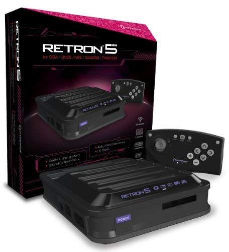 Hyperkin - Consola Retron 5 Negra + Mando Bluetooth