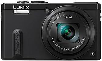"""Panasonic DMC-TZ60EF-K Appareil photo numérique hybride Ecran 3"""" 18 Mpix Zoom optique 30x Noir"""
