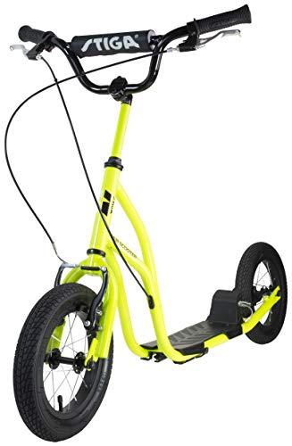 Stiga Air Scooter, Grün Roller, Lime, 12 Zoll