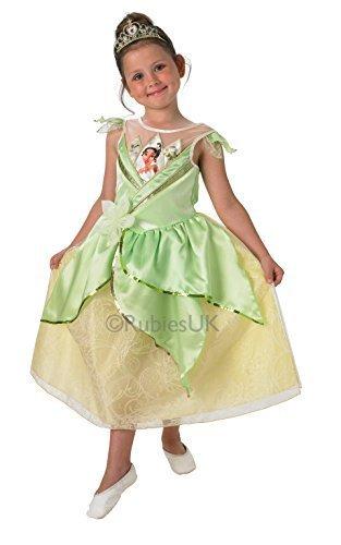 DISNEY PRINCESS ~ Tiana (Shimmer) Deluxe - Kids Costume 5 - 6 years by (Disney Tiana Kostüm)