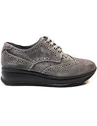 liu jo Girl B22582 Grigio Sneakers Stile Inglese Scarpe Donna Calzature  Comode 69e300da68e